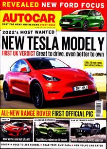 Autocar Magazine 20/10/2021 Order Online
