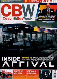 Coach And Bus Week Magazine Issue NO 1496