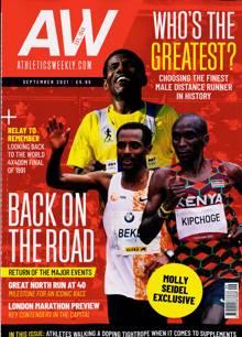 Athletics Weekly Old Magazine SEP 21 Order Online