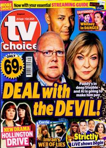 Tv Choice England Magazine NO 39 Order Online