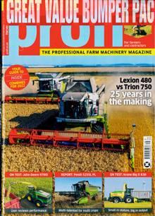 Profi Tractors Magazine HARVEST Order Online