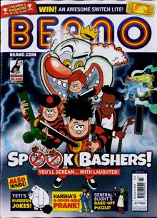 Beano Magazine 30/10/2021 Order Online