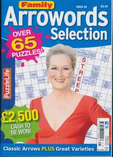 Family Arrowords Selection Magazine NO 45 Order Online