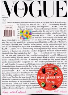 Vogue Italian Magazine NO 852 Order Online