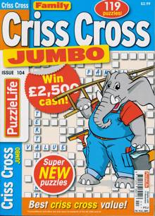 Family Criss Cross Jumbo Magazine NO 104 Order Online