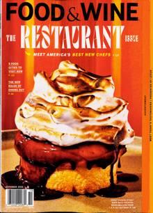 Food & Wine Usa Magazine 10 Order Online