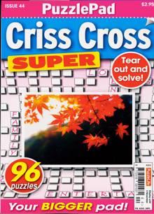Puzzlelife Criss Cross Super Magazine NO 44 Order Online