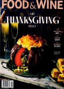 Food & Wine Usa Magazine 11 Order Online