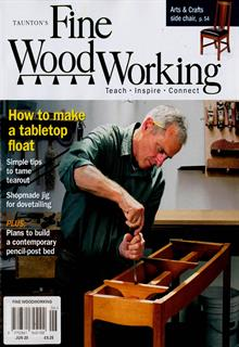 Fine Woodworking Magazine Subscription   Buy at Newsstand ...