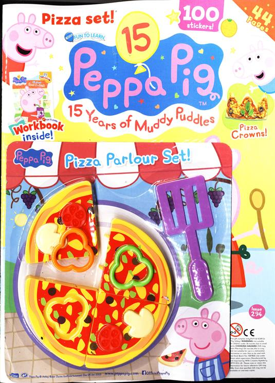 Fun To Learn Peppa Pig Magazine Subscription Buy At Newsstand Co