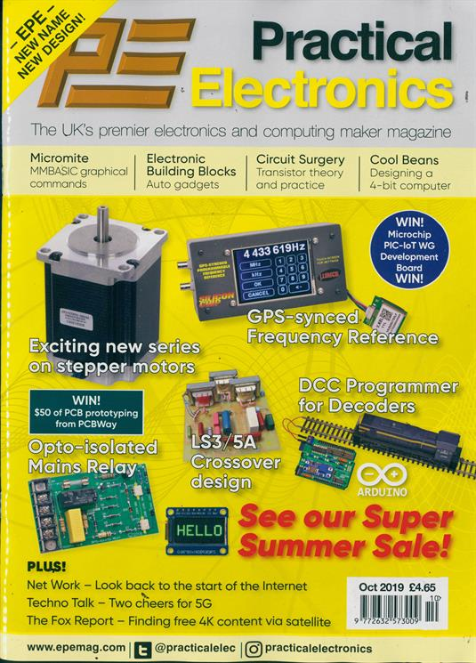 Practical Electronics Magazine Subscription  Buy at Newsstand.co.uk  Radio & Electronics