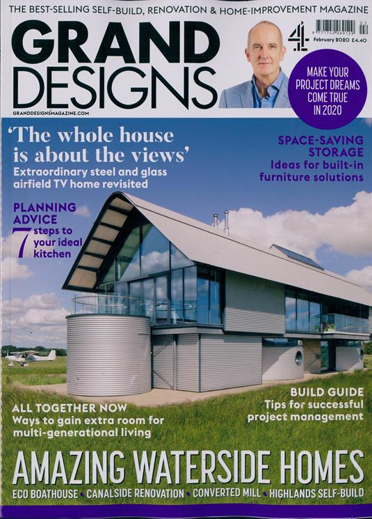 Grand Designs Magazine Subscription | Buy at Newsstand.co ...