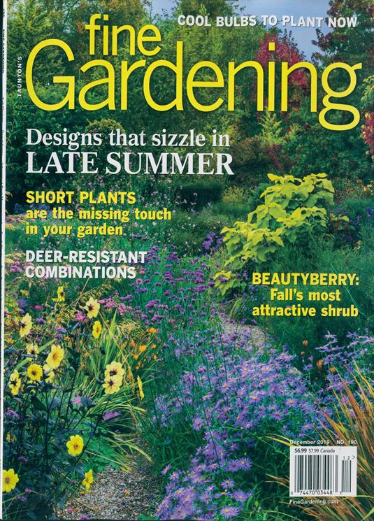 Fine Gardening Magazine Subscription | Buy at Newsstand.co ...