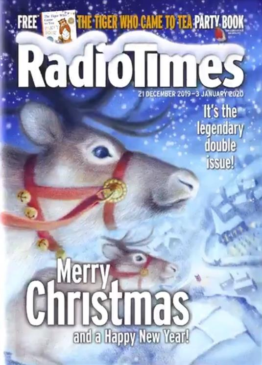 Radio Times Christmas 2020 The Christmas Radio Times Edition Magazine Subscription | Buy at