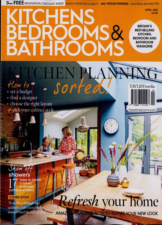 Kitchens Bed Bathrooms Magazine Subscription Buy At Newsstand Co Uk Home Interiors