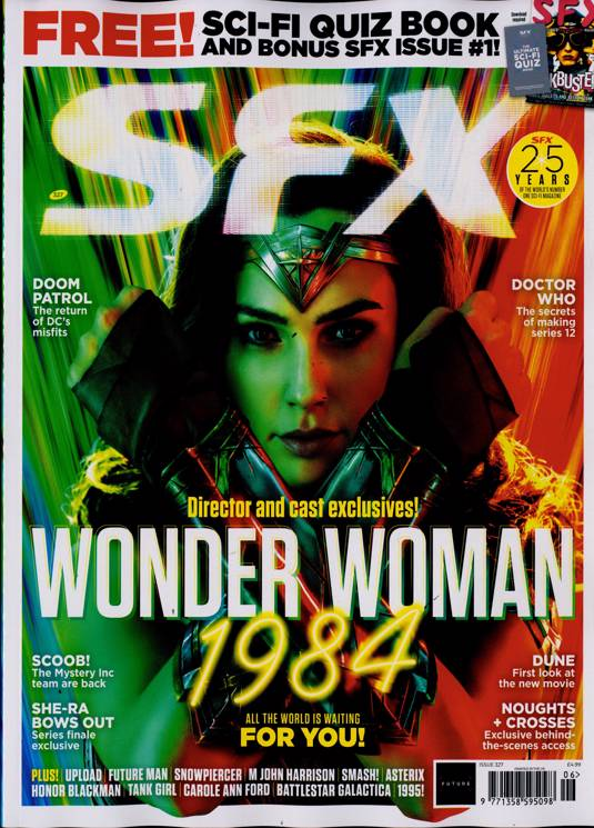 Sfx Magazine Subscription | Buy at Newsstand.co.uk | Science Fiction