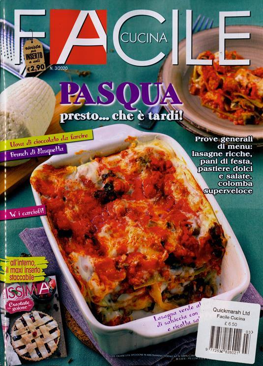 Facile Cucina Magazine Subscription Buy At Newsstand Co Uk Italian