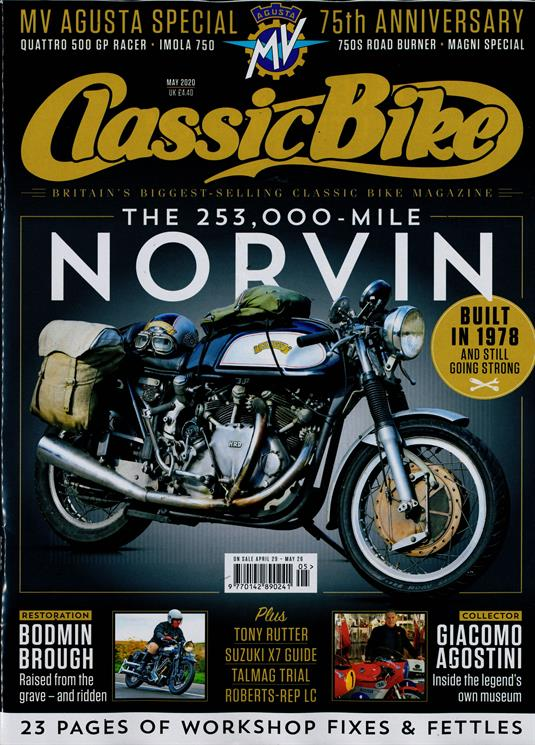 Classic Bike Magazine Subscription Buy At Newsstand Co Uk