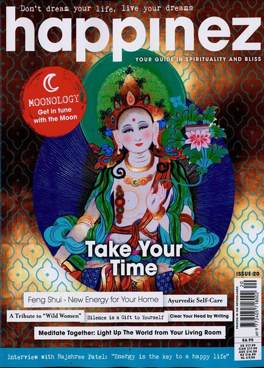 Verwonderlijk Happinez Magazine Subscription | Buy at Newsstand.co.uk | Women's PD-95