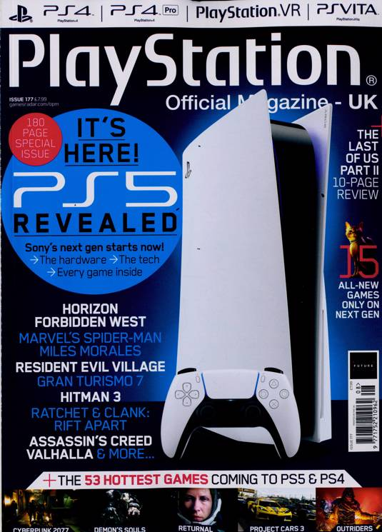 Playstation Official Magazine Subscription Buy At Newsstand Co
