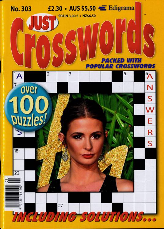 Just Crosswords Magazine Subscription   Buy at Newsstand ...
