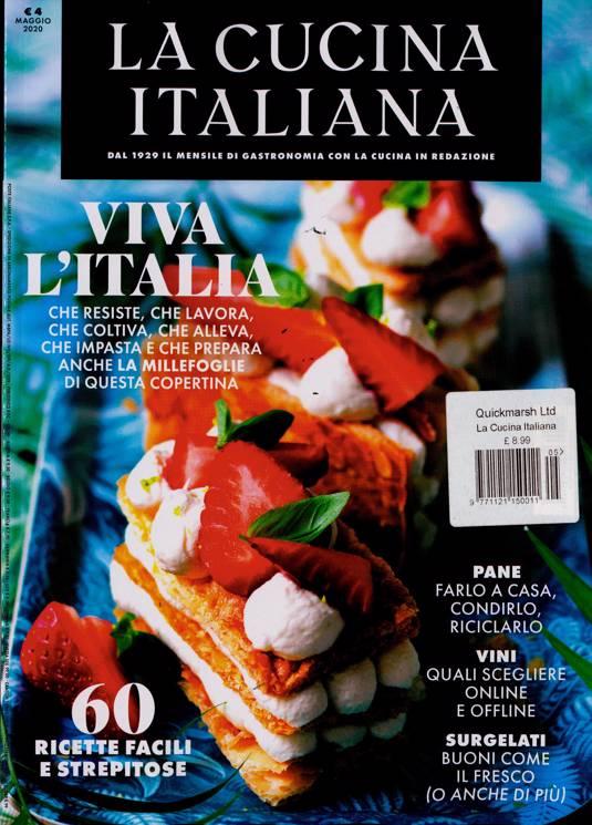 La Cucina Italiana Magazine Subscription Buy At Newsstand Co Uk Italian