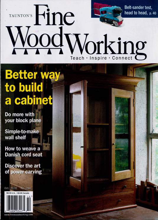 Fine Woodworking Magazine Subscription Buy At Newsstand Co Uk Woodworking
