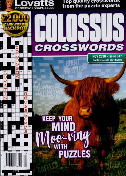 Lovatts Colossus Crossword Magazine Subscription   Buy at ...